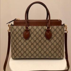 Gucci GG Supreme Monogram Tote Bag